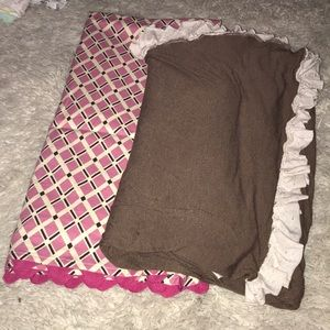 Other - Two baby girl blankets!